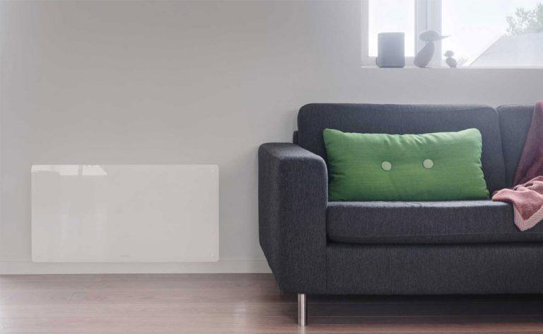 Panelovn i stue beha